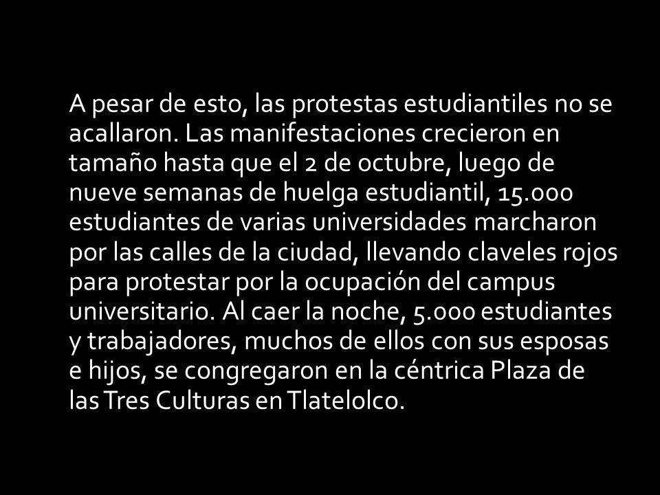 México, 2 de octubre de 1968. Diez días antes del inicio de los Juegos Olímpicos, el gobierno de Gustavo Díaz Ordaz liquida a sangre y fuego la revuel
