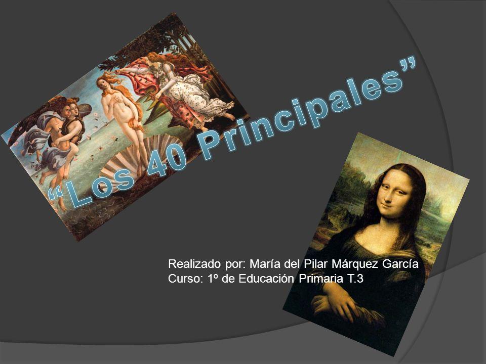 Realizado por: María del Pilar Márquez García Curso: 1º de Educación Primaria T.3