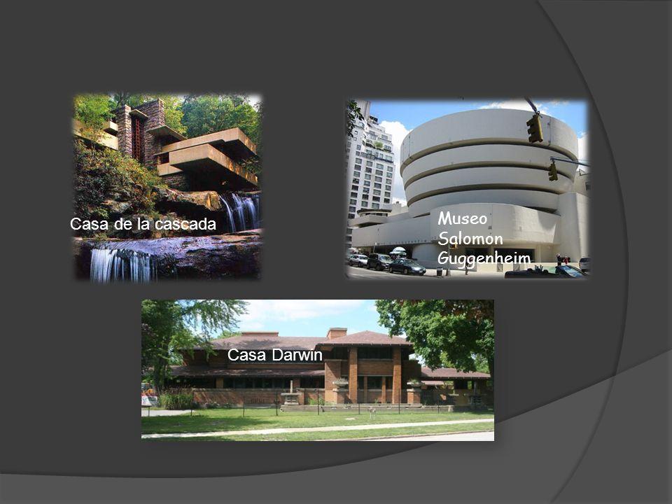 Casa de la cascada Museo Salomon Guggenheim Casa Darwin