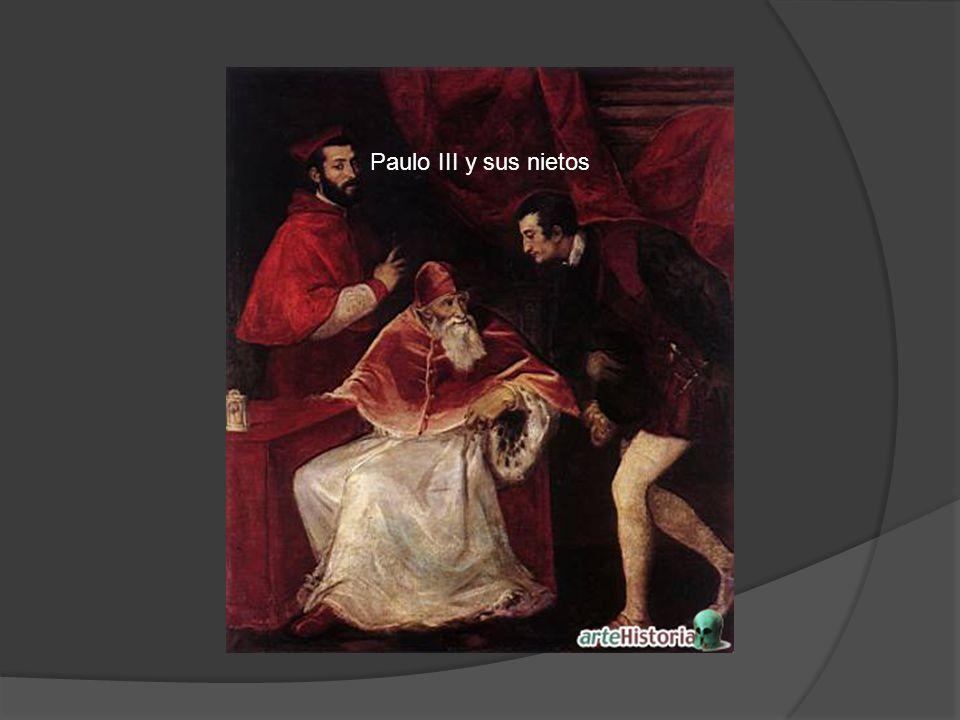 Paulo III y sus nietos