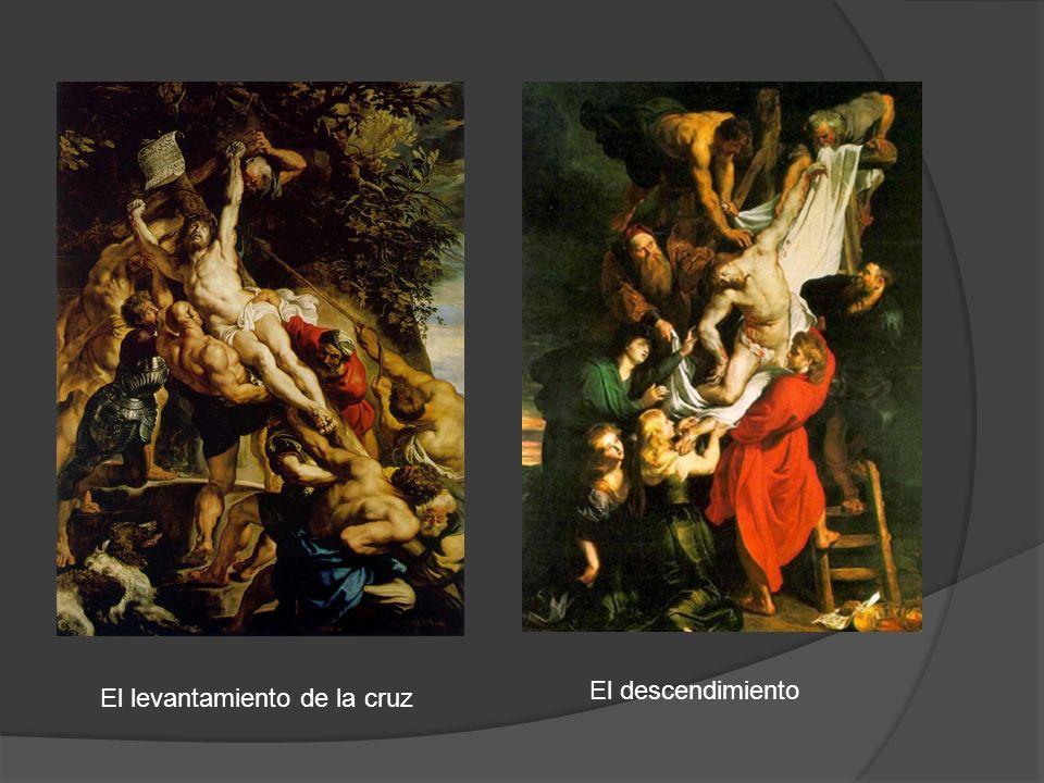 El levantamiento de la cruz El descendimiento