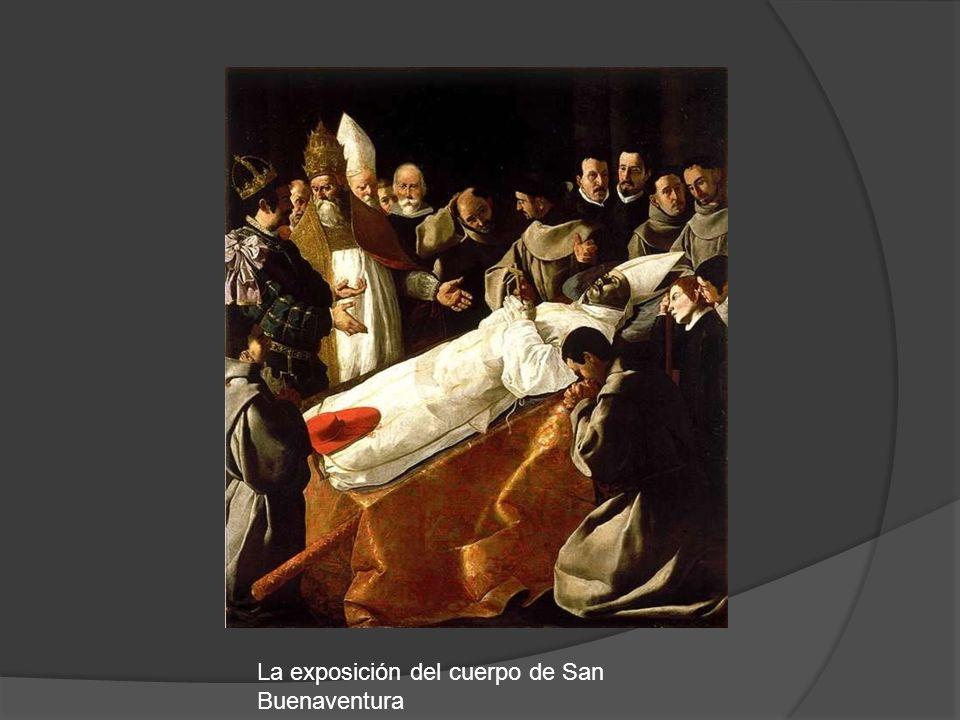 La exposición del cuerpo de San Buenaventura