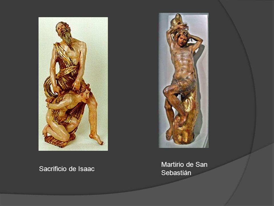 Sacrificio de Isaac Martirio de San Sebastián