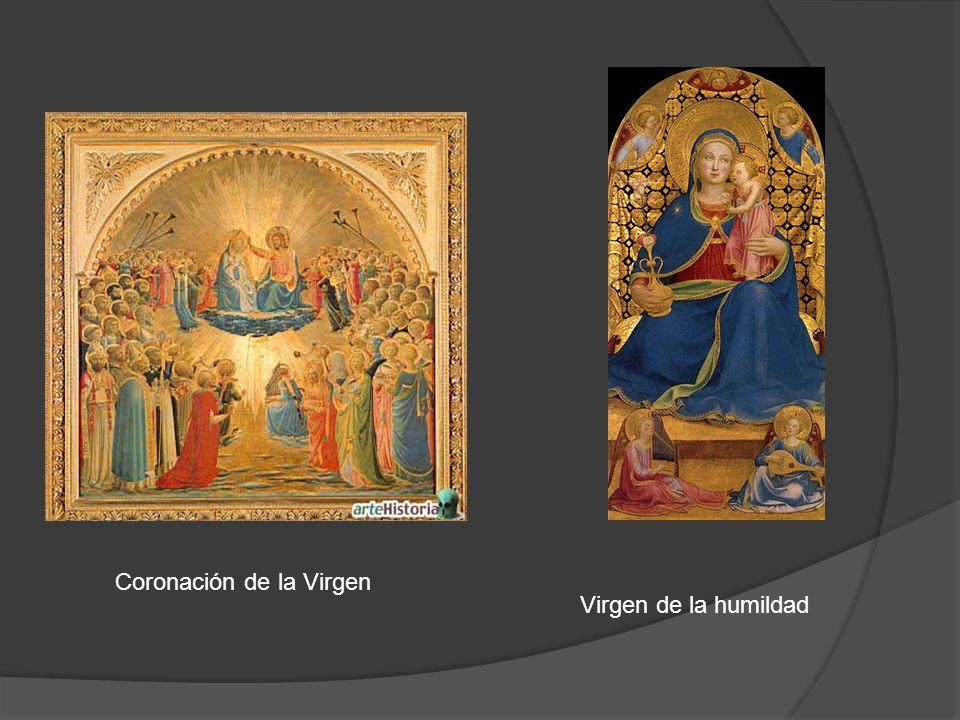Coronación de la Virgen Virgen de la humildad