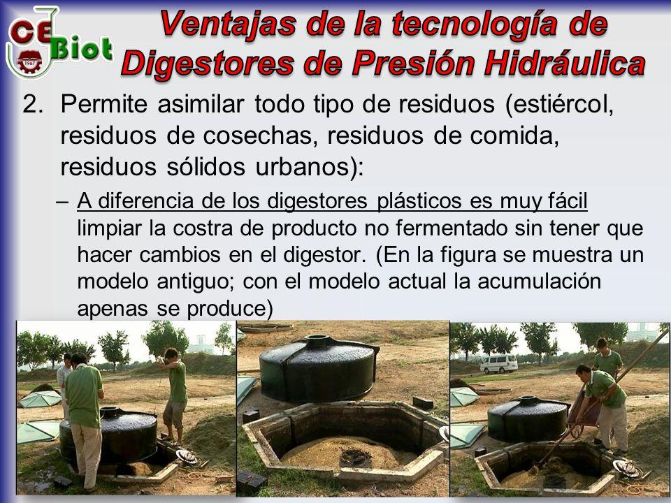 5.Promover la extensión del uso de esta tecnología para el tratamiento de los residuos orgánicos en Comiderías, Restaurantes, Escuelas, Hospitales, Unidades Militares y similares, así como para el tratamiento de las aguas residuales domésticas en los casos de zonas rurales que no cuentan con sistema de alcantarillado.