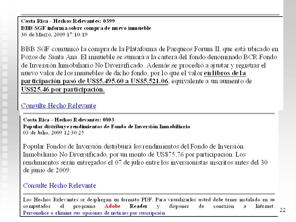 21 Fecha Ganan. N. RealAct. NetoBenef. DistriPrecio P Benef/Pa rti Gan.NR./Part i 30/01/200986.147.0002.153.675861,4721,540 22/04/2009087.147.0000871,