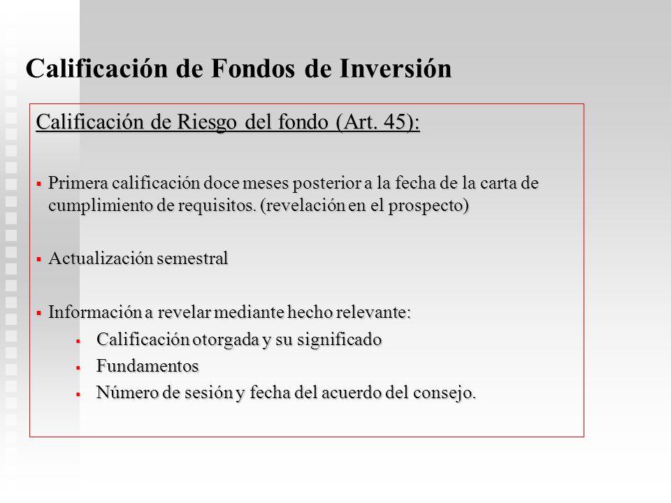 Normativa Prudencial Derecho Receso: No procede cobro cuando: SAFI: Cambio de control, sustitución y fusión. FONDO: Cambio de naturaleza (abierta o ce