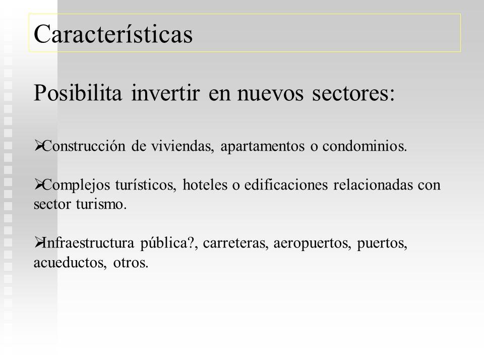 Artículo 85.-Concepto … objetivo primordial es la inversión en proyectos inmobiliarios en distintas fases de diseño y construcción, para su conclusión
