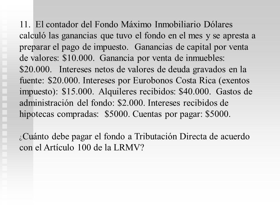 6.Don Pefecto Ciudadano invirtió en el Fondo Inmobiliario Mundial el primer día de lanzamiento del fondo $100.000 (precio en $1 cada participación). U