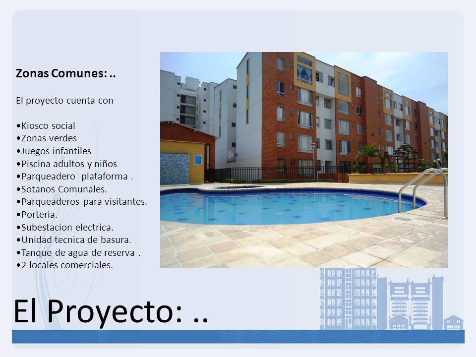 El Proyecto:..Zonas Comunes:..
