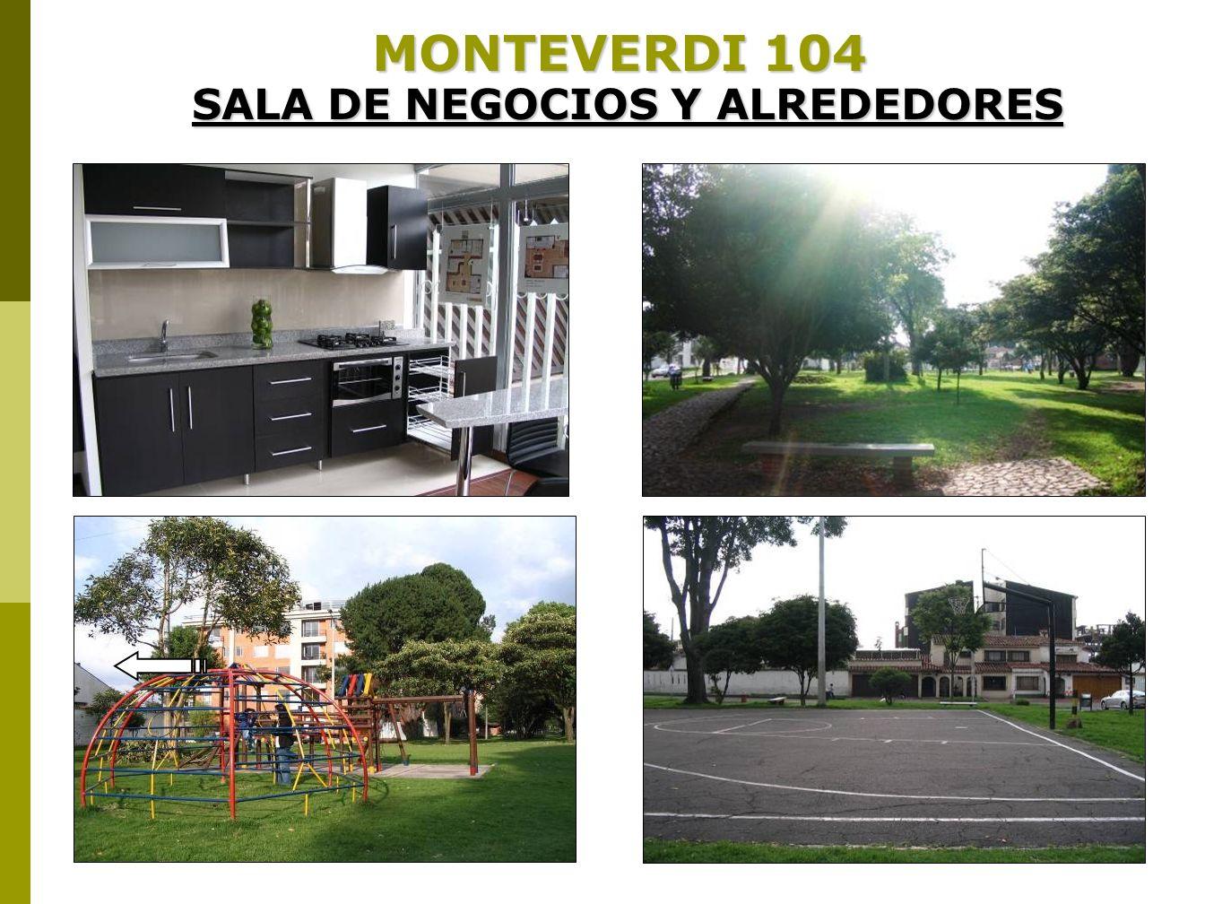 MONTEVERDI 104 SALA DE NEGOCIOS Y ALREDEDORES