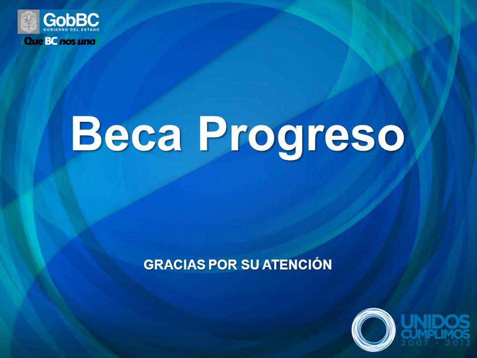 Beca Progreso GRACIAS POR SU ATENCIÓN