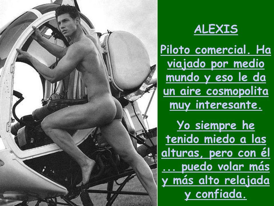 ALEXIS Piloto comercial.