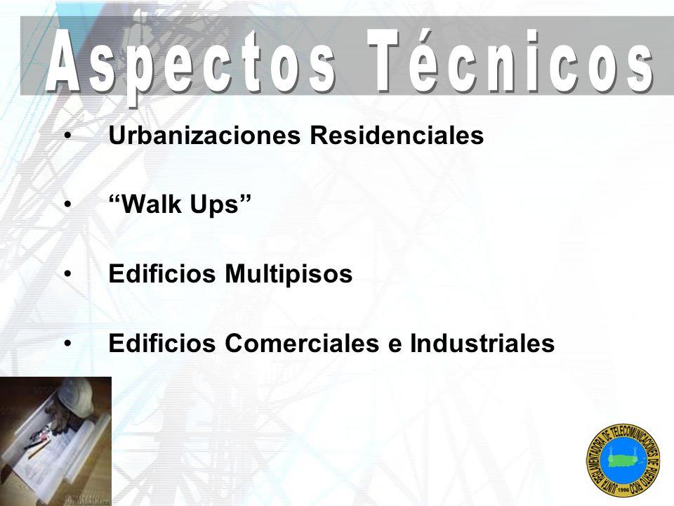 Urbanizaciones Residenciales Walk Ups Edificios Multipisos Edificios Comerciales e Industriales