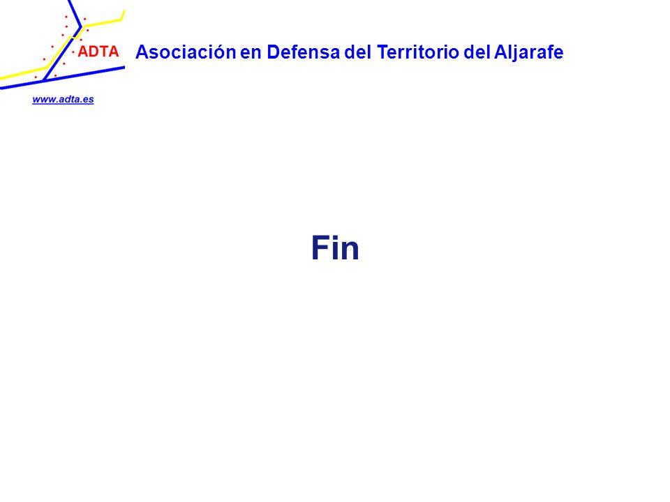 Fin Asociación en Defensa del Territorio del Aljarafe