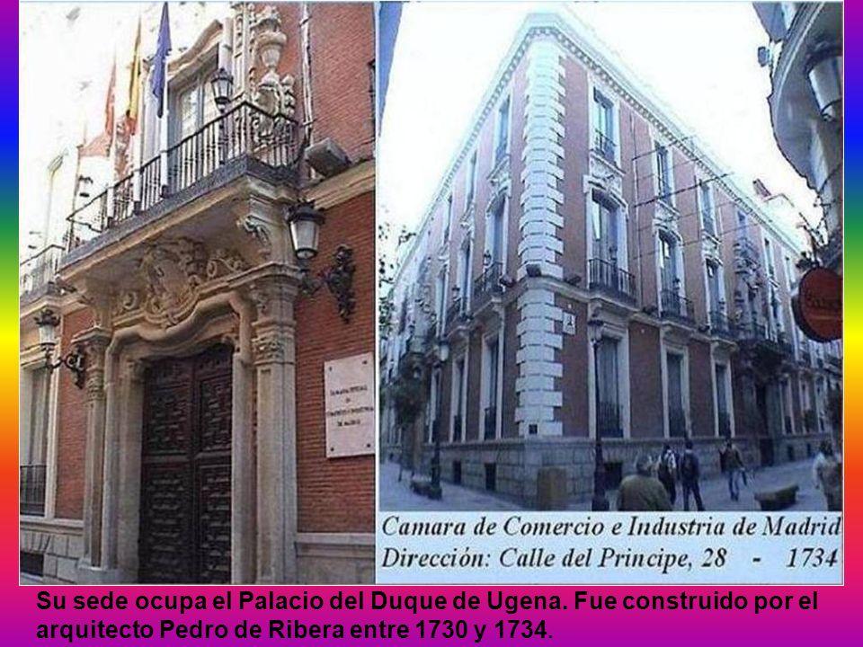 Su sede ocupa el Palacio del Duque de Ugena.