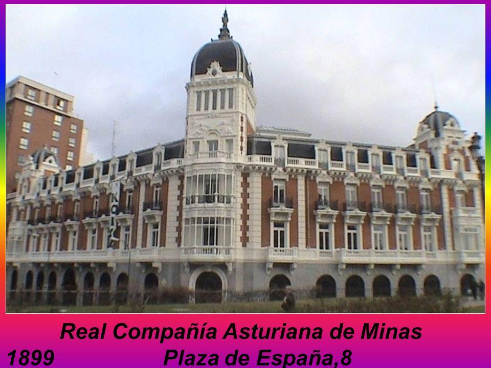 Real Compañía Asturiana de Minas 1899 Plaza de España,8