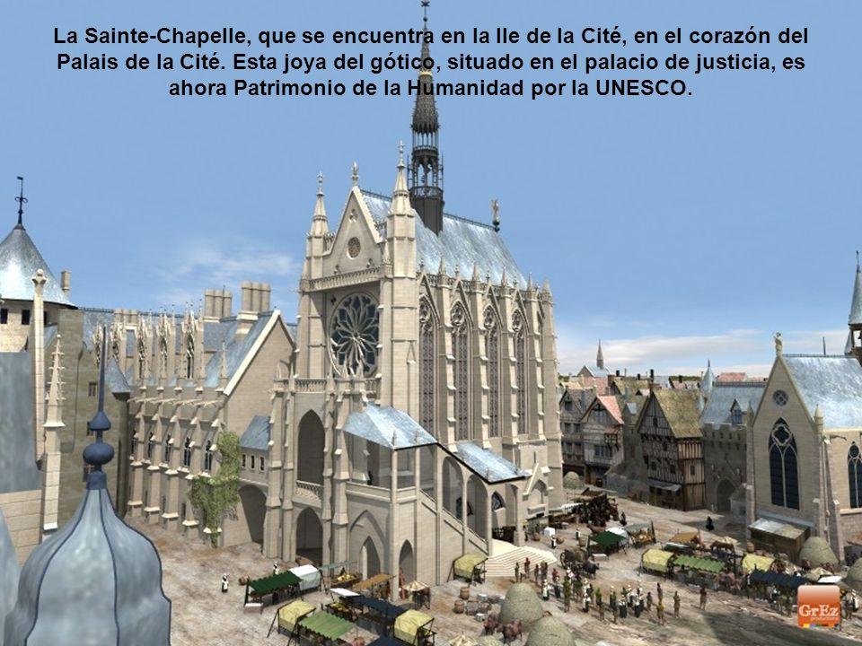 Esta imagen tomada por producciones Grez descubre el Palais de la Cité en la versión medieval. Fue la residencia de los reyes de Francia de los siglos