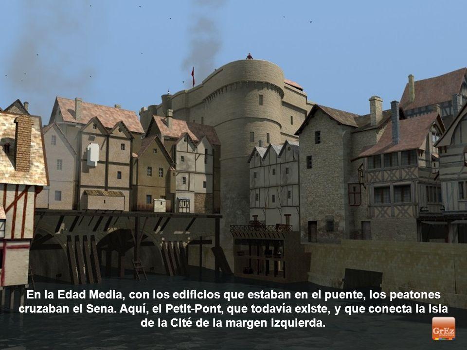 La Sainte-Chapelle, que se encuentra en la Ile de la Cité, en el corazón del Palais de la Cité. Esta joya del gótico, situado en el palacio de justici
