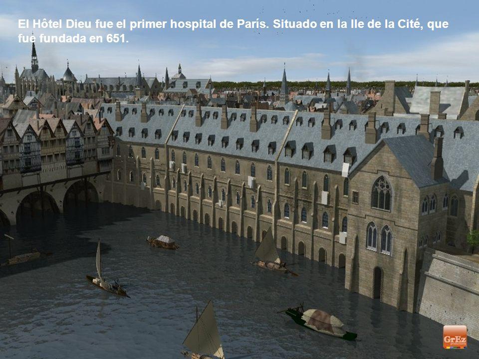 Vista desde el Petit Châtelet en la orilla izquierda.