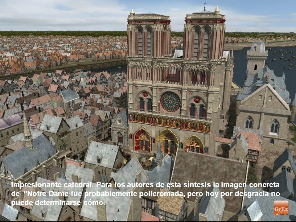 La entrada al Chatelet estaba en el lado de la calle de Saint-Denis. En la Edad Media, fue un edificio dedicado a la Justicia, temido por sus mazmorra