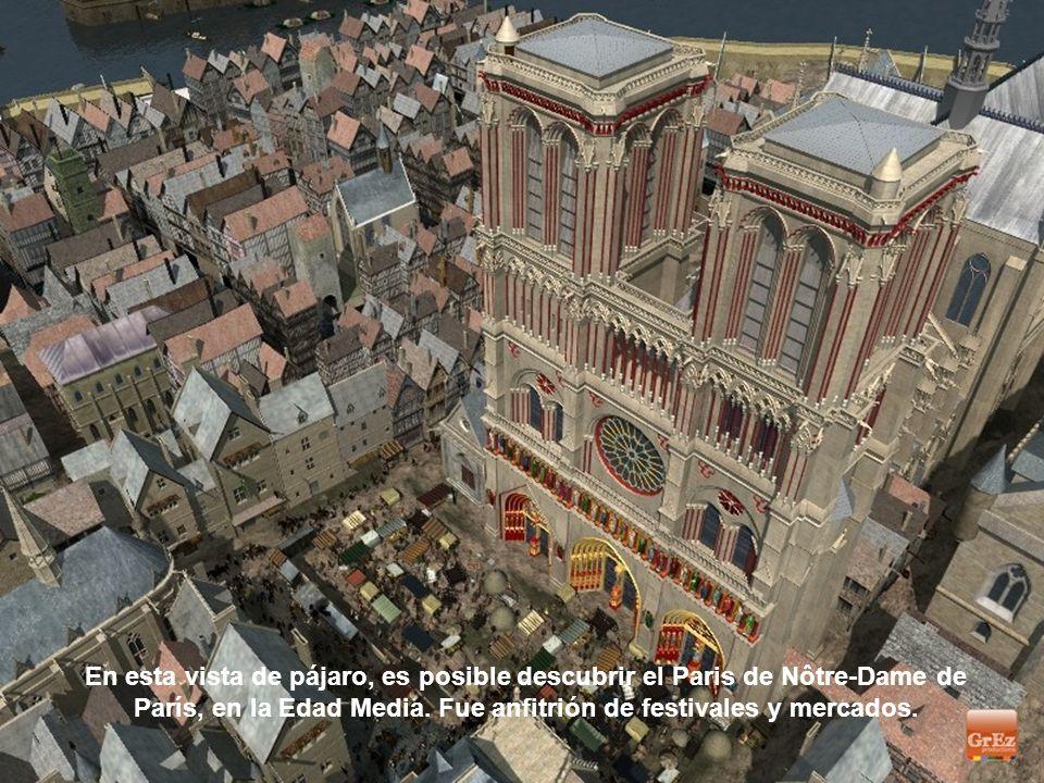 Impresionante catedral. Para los autores de esta síntesis la imagen concreta de