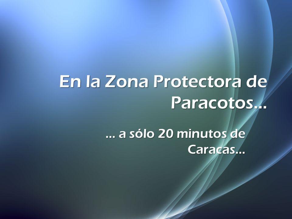 En la Zona Protectora de Paracotos...... a sólo 20 minutos de Caracas...