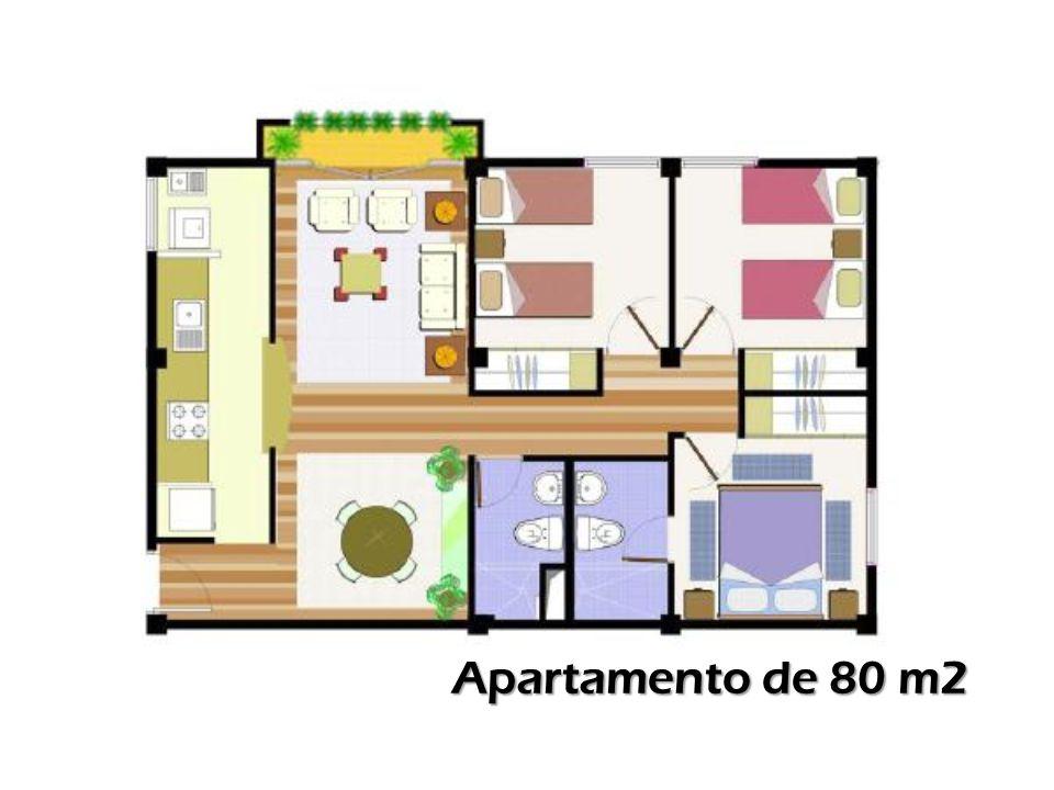 Apartamento de 80 m2