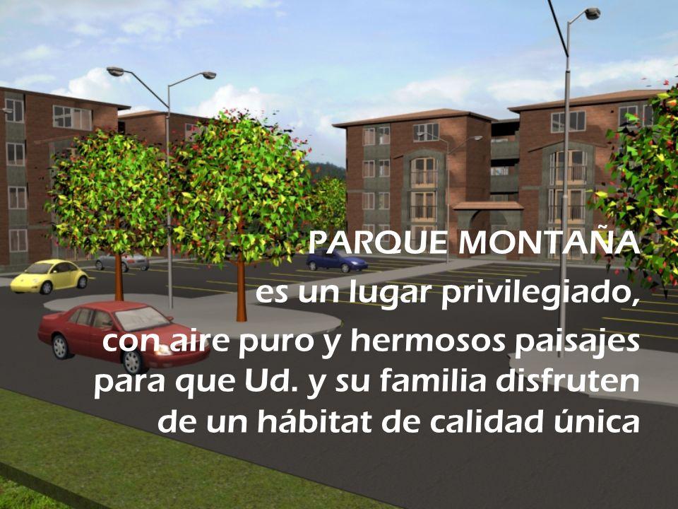 PARQUE MONTAÑA es un lugar privilegiado, con aire puro y hermosos paisajes para que Ud. y su familia disfruten de un hábitat de calidad única