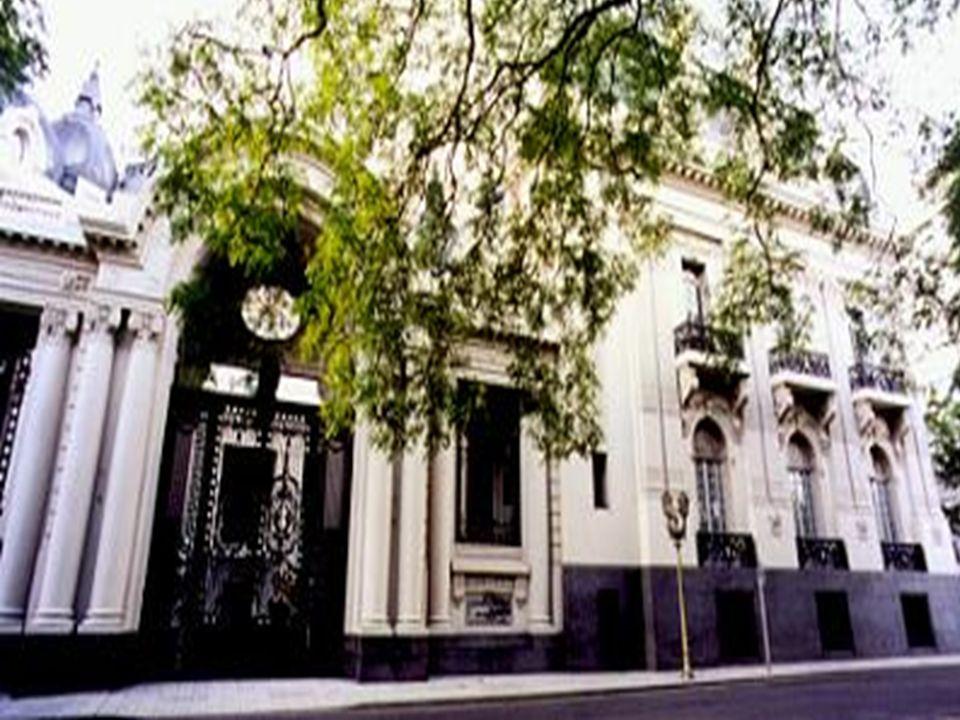 Sede de la Cancillería, para Ceremonial y Protocolo. Retiro Palacio Flia. Anchorena ahora Palacio San Martín