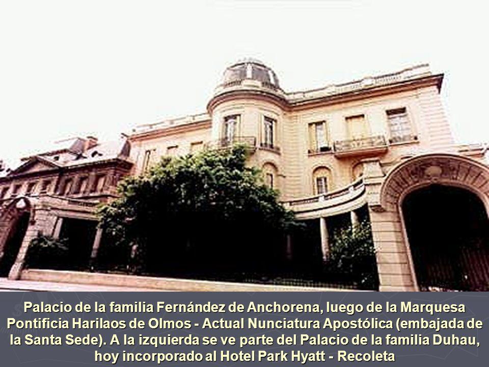 Casona de la chacra de la familia Olivera - Parque Avellaneda