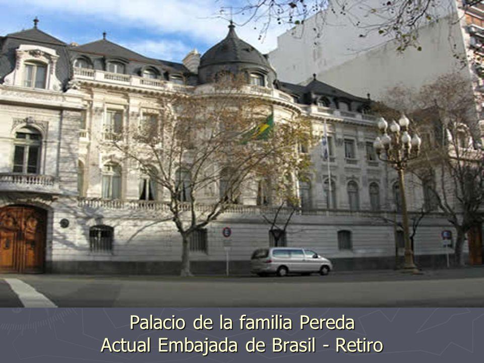 Palacio de la familia Ortiz Basualdo Actual Embajada de Francia - Retiro