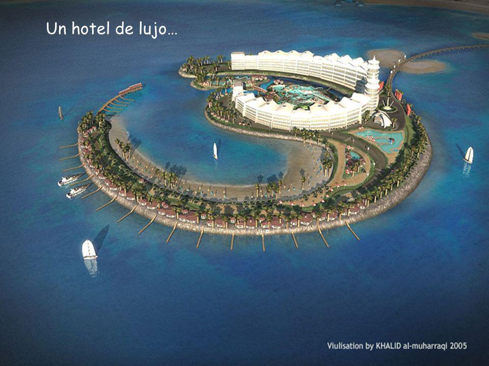Un hotel de lujo…
