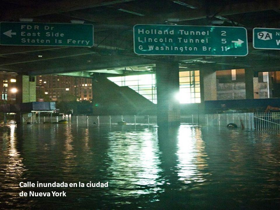 Esta es sólo una pequeña muestra del enorme desastre que dejó Sandy a su paso.