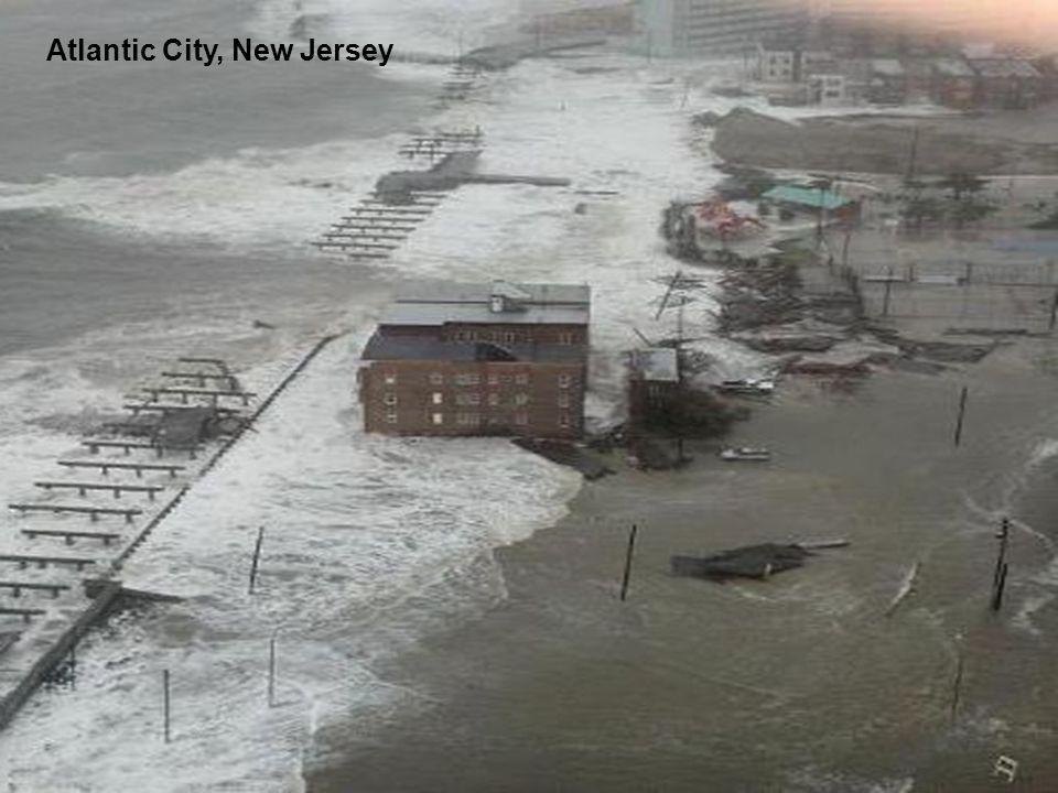 Calle en Atlantic City, New Jersey
