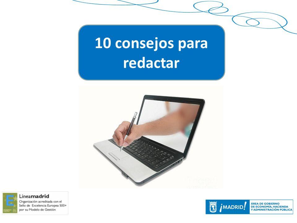 30 10 consejos para redactar