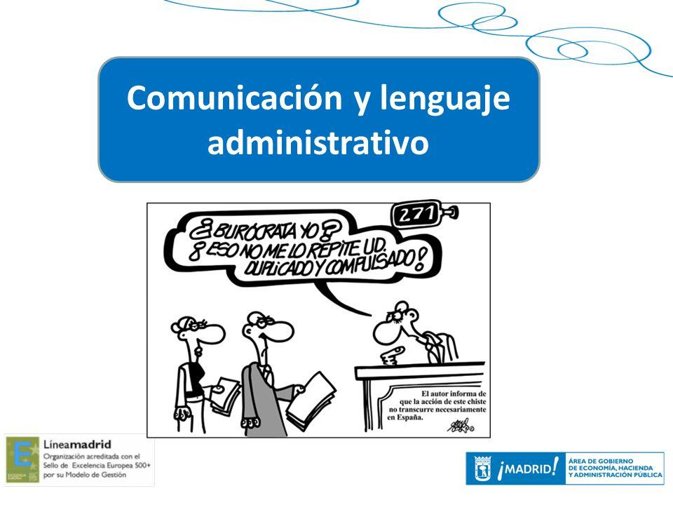 4 Comunicación y lenguaje administrativo