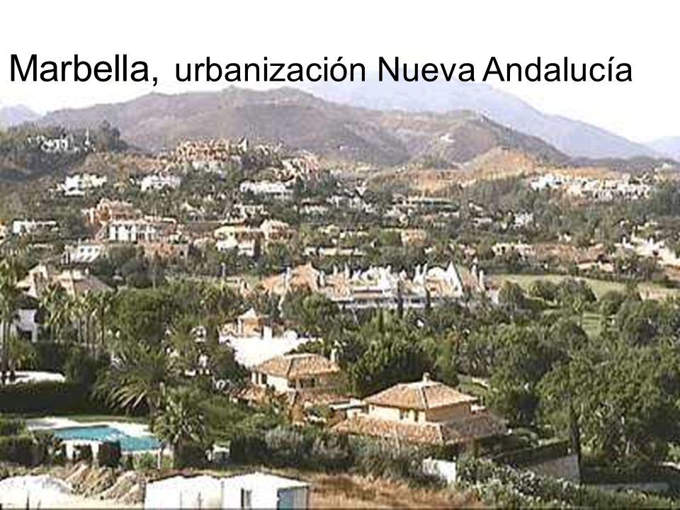 Marbella, urbanización Nueva Andalucía