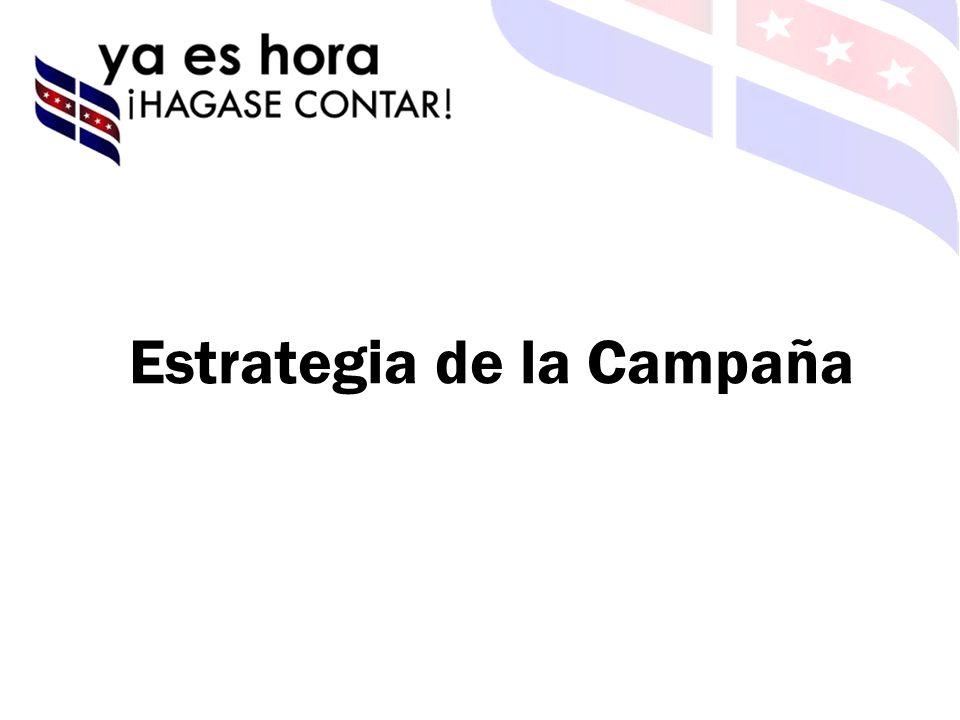 Estrategia de la Campaña