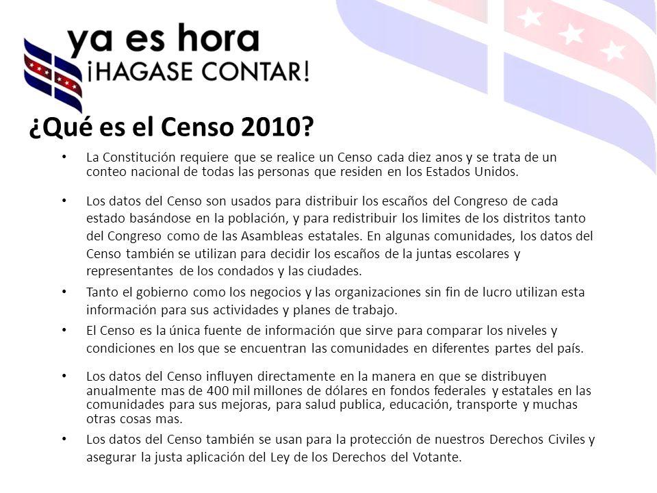 ¿Qué es el Censo 2010.