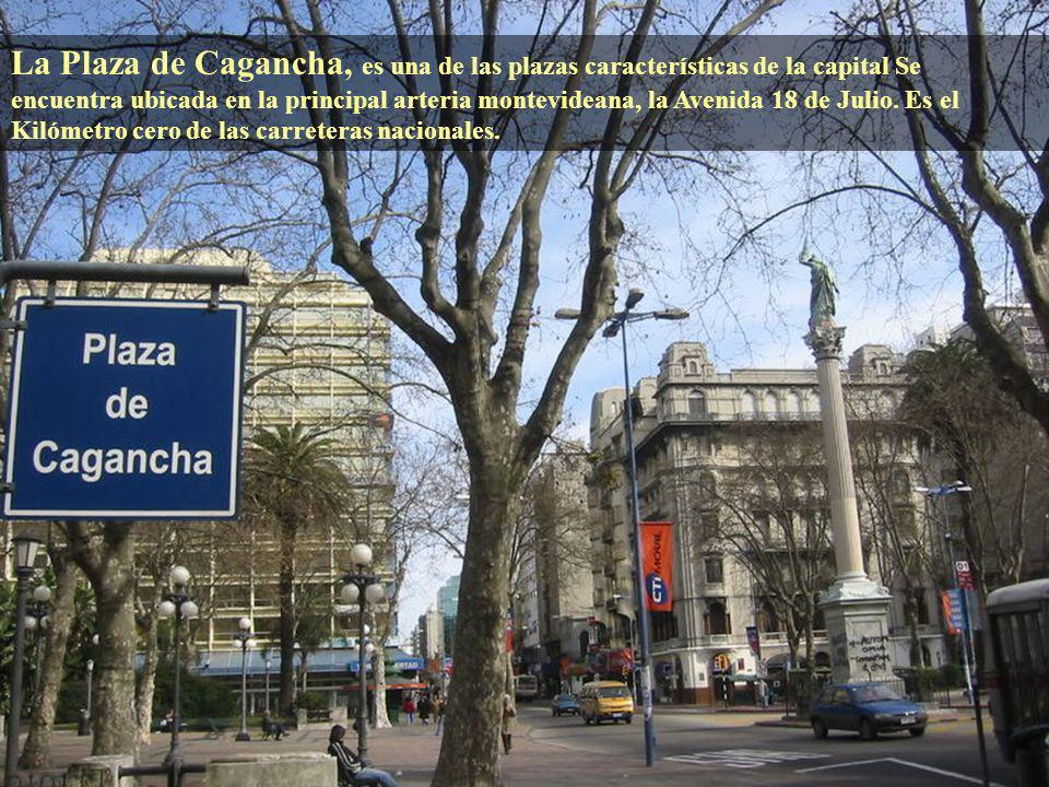 A cuatro cuadras de la Plaza Independencia se encuentra la Plaza Juan Fabini, en la cual se encuentra el monumento denominado El Entrevero, la plaza s