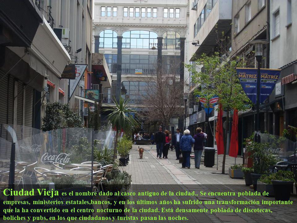 Hasta 1829 Montevideo estaba rodeada por una muralla que protegía a la ciudad de posibles invasiones, estructura hoy inexistente, que conserva sin emb