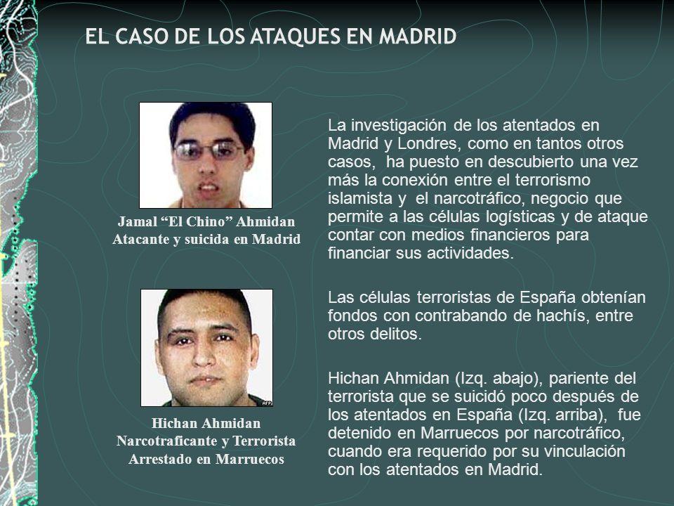 La investigación de los atentados en Madrid y Londres, como en tantos otros casos, ha puesto en descubierto una vez más la conexión entre el terrorism