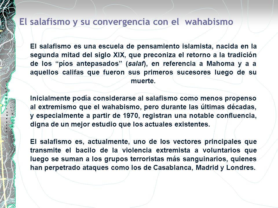 El salafismo es una escuela de pensamiento islamista, nacida en la segunda mitad del siglo XIX, que preconiza el retorno a la tradición de los píos an