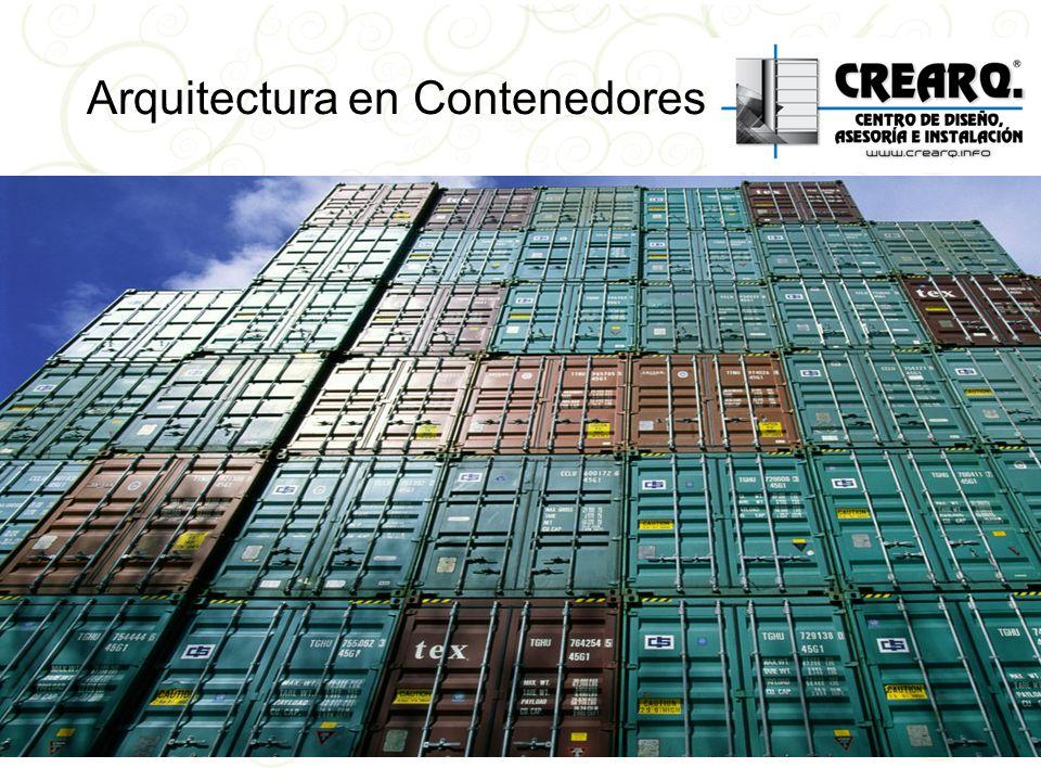 Arquitectura en Contenedores??