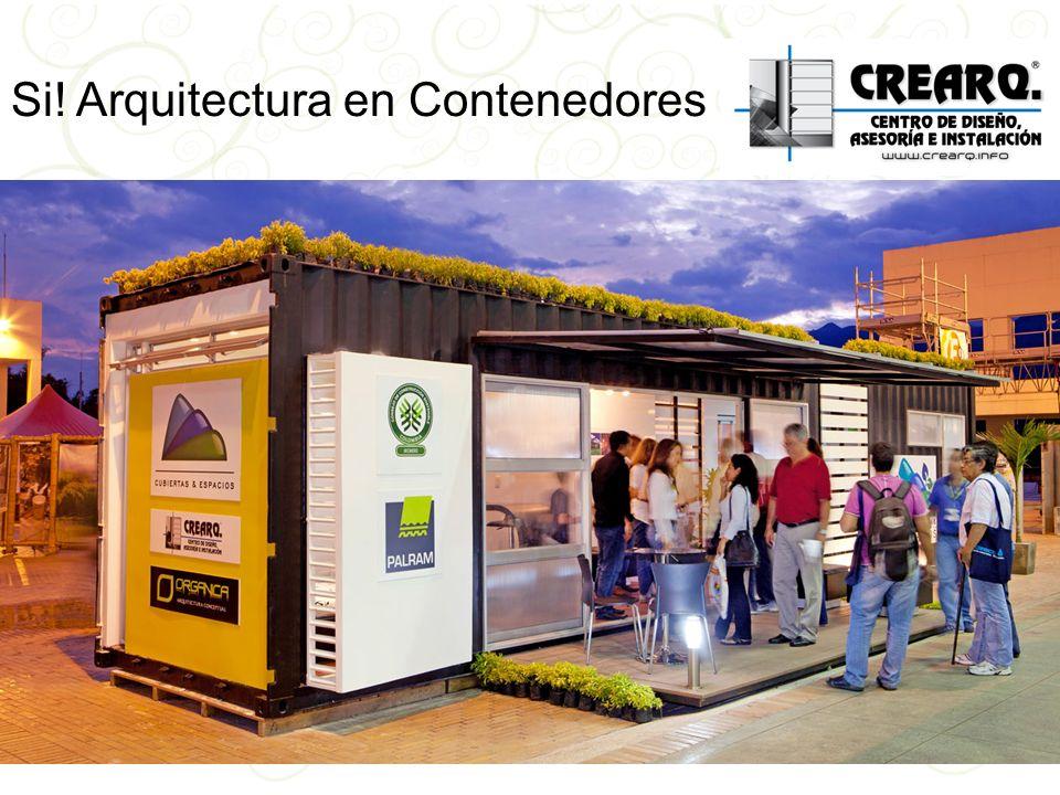 Si! Arquitectura en Contenedores