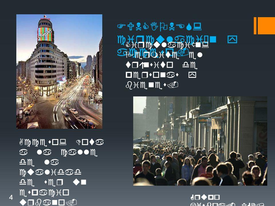 FUNCIONES: circulación y acceso. Circulación: Permite el tránsito de personas y bienes.