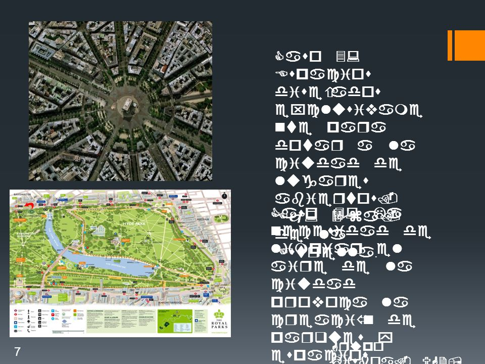 Caso 3: Espacios diseñados exclusivame nte para dotar a la ciudad de lugares abiertos.