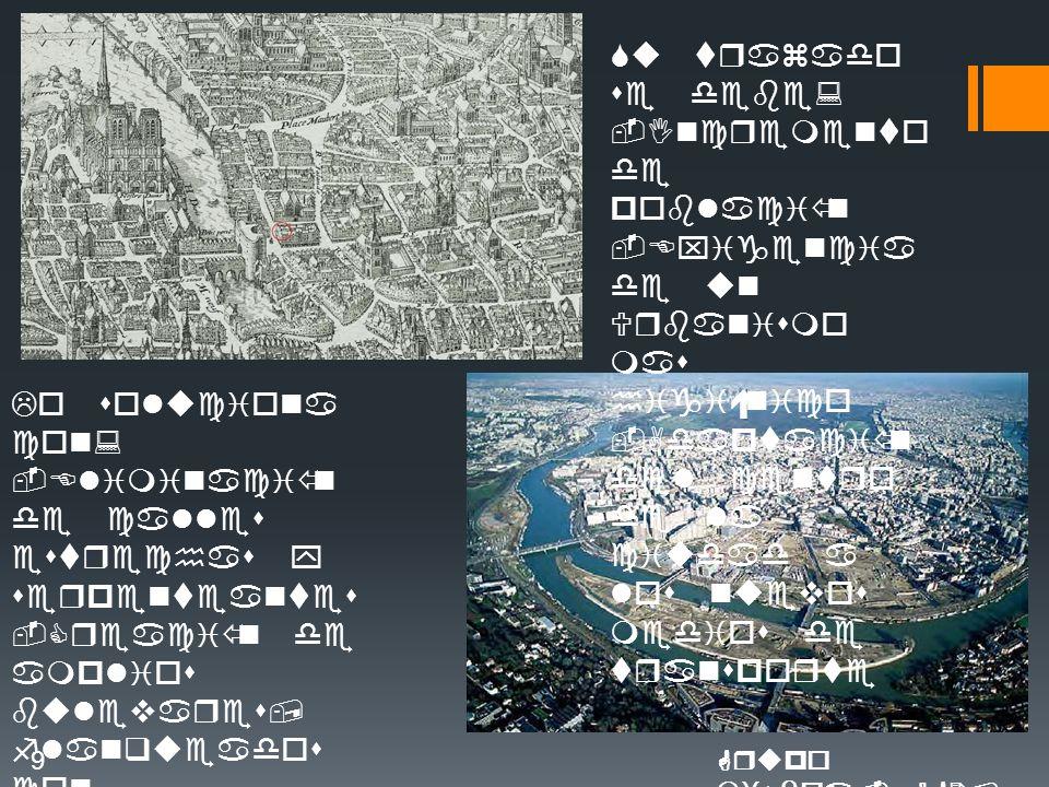 Su trazado se debe: -Incremento de población -Exigencia de un Urbanismo mas higiénico -Adaptación del centro de la ciudad a los nuevos medios de transporte Lo soluciona con: -Eliminación de calles estrechas y serpenteantes -Creación de amplios bulevares, flanqueados con arboles(crea zonas verdes) -Edificios de alturas uniformes -Crea avenidas que conectan con elementos de referencia 9Grupo Lisboa.