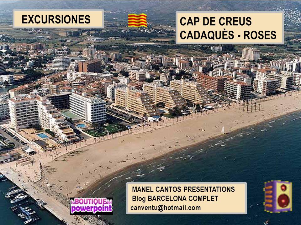 Rosas tiene el puerto pesquero más destacado de la costa del norte de Catalunya.